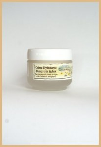 Crème Hydratante Peau Trés Sèche